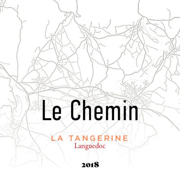 Le Chemin - cuvée La Tangerine - 2018 - AOC Languedoc